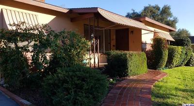Glendale Single Family Home For Sale: 1828 Canada Boulevard