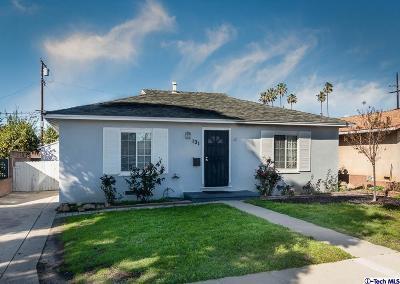 Ventura Single Family Home For Sale: 131 South Seaward Avenue
