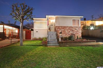 Eagle Rock Single Family Home Active Under Contract: 5040 La Roda Avenue