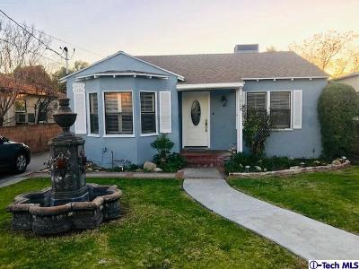 Single Family Home Active Under Contract: 1206 Mountain View Street