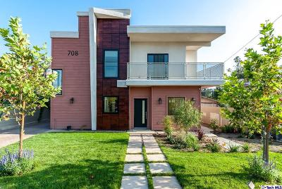 Glendale Condo/Townhouse Active Under Contract: 708 East Palmer Avenue #B