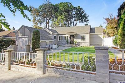 Eagle Rock Single Family Home Active Under Contract: 911 La Loma Road