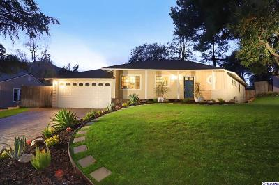 La Crescenta Single Family Home Active Under Contract: 4227 Boston Avenue