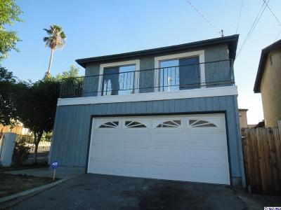 Sunland Single Family Home For Sale: 8254 Wentworth Street
