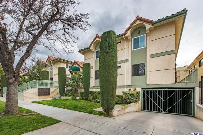 Burbank Condo/Townhouse Active Under Contract: 226 West Tujunga Avenue #104
