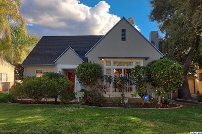 Glendale Single Family Home Active Under Contract: 1416 Moncado Drive