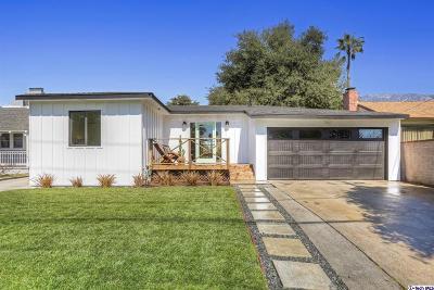 Altadena Single Family Home Active Under Contract: 497 Royce Street