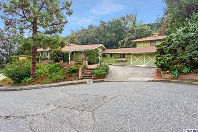 Glendale Single Family Home For Sale: 1110 San Luis Rey Drive