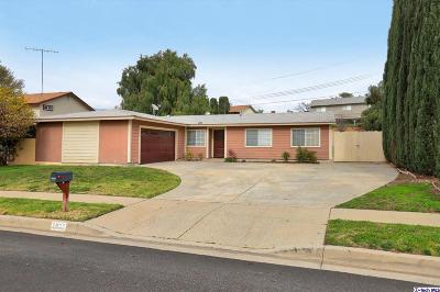 Simi Valley Single Family Home Active Under Contract: 2833 Fitzgerald Road