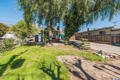 La Crescenta Single Family Home For Sale: 2941 Mary Street