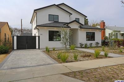 Burbank Single Family Home For Sale: 501 South Glenwood Place