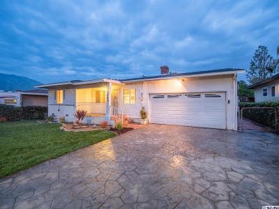 Sunland Single Family Home For Sale: 10540 Oro Vista Avenue