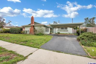 Sunland Single Family Home Active Under Contract: 10385 Mather Avenue