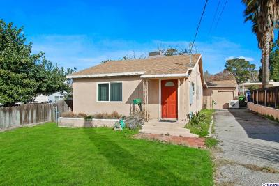 Tujunga Single Family Home Active Under Contract: 7345 Hillrose Street
