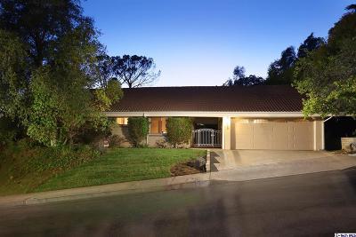 Glendale Single Family Home For Sale: 640 Robin Glen Drive