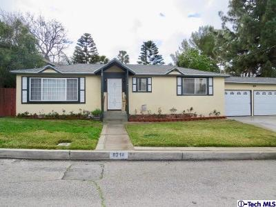 Sunland Single Family Home Active Under Contract: 8214 Fenwick Street