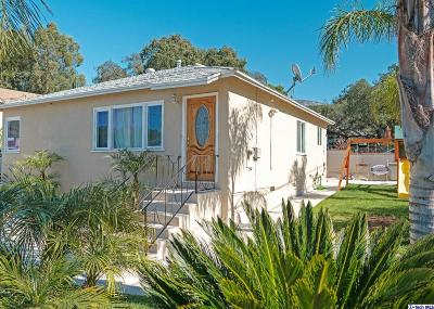 Tujunga Single Family Home For Sale: 6559 Olcott Street