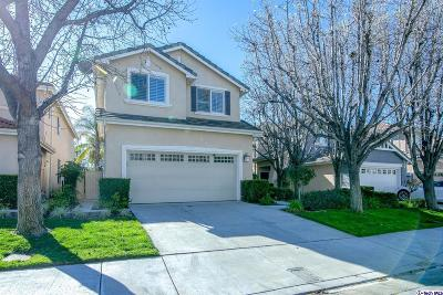 Stevenson Ranch Single Family Home Active Under Contract: 25526 Burns Place
