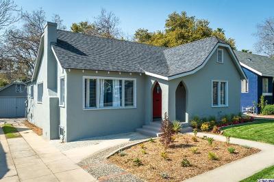 Altadena Single Family Home Active Under Contract: 2673 Glenrose Avenue