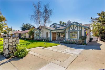 Glendale Single Family Home For Sale: 1912 Hampton Lane