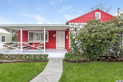 Glendale Single Family Home For Sale: 3612 1st Avenue