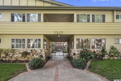 Glendale Condo/Townhouse For Sale: 1317 North Brand Boulevard #12