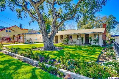 Sunland Single Family Home Active Under Contract: 10341 Leolang Avenue