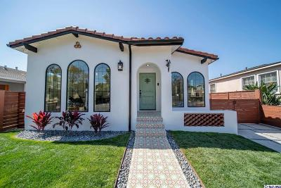 Los Angeles County Single Family Home For Sale: 4241 Beethoven Street