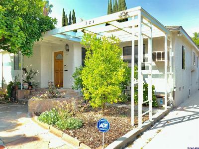Burbank Single Family Home For Sale: 324 North Beachwood Drive