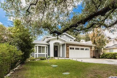 La Canada Flintridge Single Family Home For Sale: 4361 Bel Air Drive