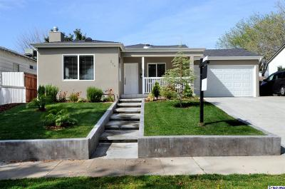 Burbank Single Family Home Active Under Contract: 239 North Frederic Street