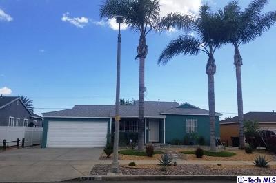 Arleta Single Family Home Active Under Contract: 13886 Rayen Street