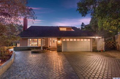 Glendale Single Family Home Active Under Contract: 3575 East Chevy Chase Drive