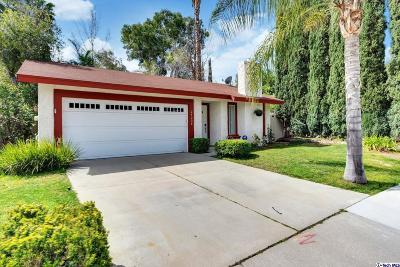 Valencia Single Family Home For Sale: 24208 Dalgo Drive