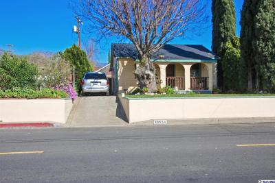 Sunland Single Family Home Active Under Contract: 10554 McVine Avenue