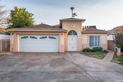 Van Nuys Single Family Home For Sale: 14318 Haynes Street