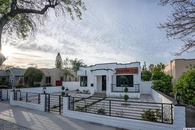 Burbank Single Family Home For Sale: 1805 West Clark Avenue