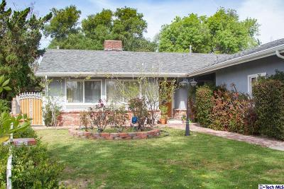 Tujunga Single Family Home Active Under Contract: 6588 Quinton Lane