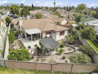 Pacoima Single Family Home Active Under Contract: 13445 Gager Street