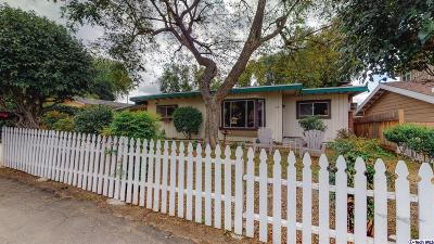 Thousand Oaks Single Family Home For Sale: 208 Houston Drive