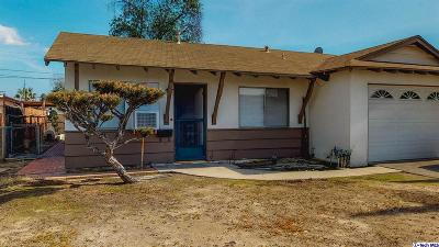 Sun Valley Single Family Home For Sale: 11010 Fleetwood Street