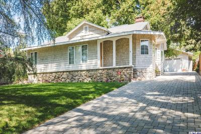 Glendale Single Family Home For Sale: 3855 Vista Court