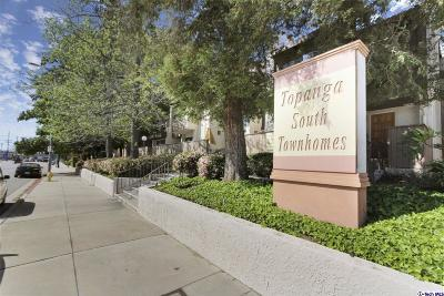 Chatsworth Condo/Townhouse Active Under Contract: 10005 Topanga Canyon Boulevard #10