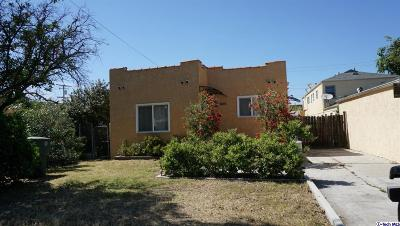 Glendale Single Family Home For Sale: 605 Hazel Street