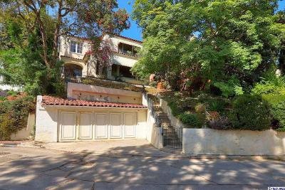 Los Angeles CA Single Family Home For Sale: $2,275,000