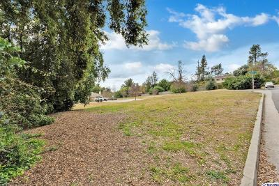 La Canada Flintridge Residential Lots & Land For Sale: Olive Court