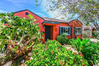 Burbank Single Family Home For Sale: 514 North Parish Place