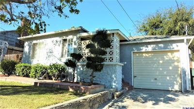 Glendale Single Family Home For Sale: 3643 3rd Avenue