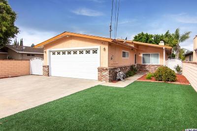 Sunland Single Family Home For Sale: 11015 Eldora Avenue