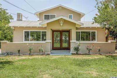 Pasadena Single Family Home For Sale: 1550 Atchison Street